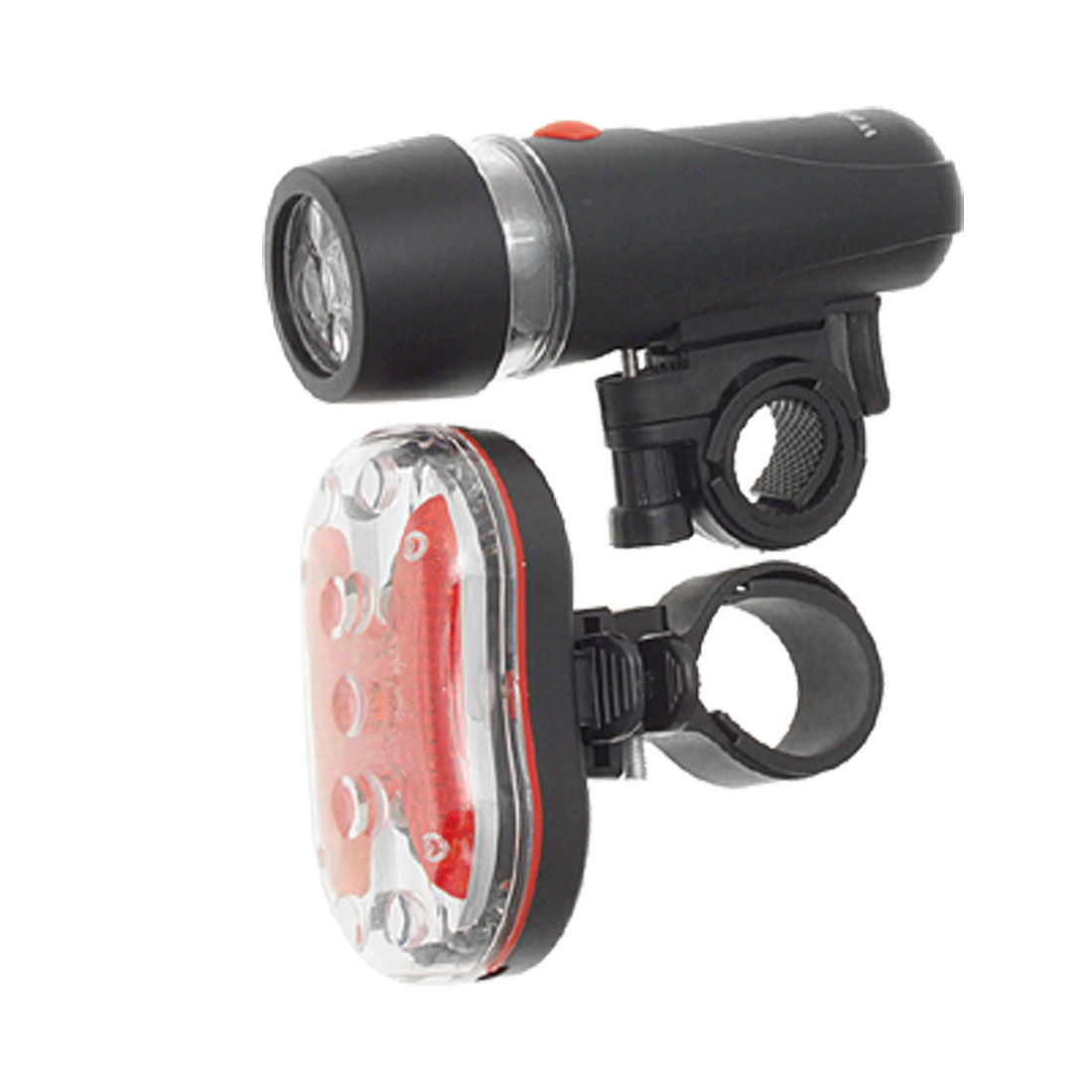 7 Modes Red LED Flash Light + 3 Modes White LED Flash Light for Bicycle Bike