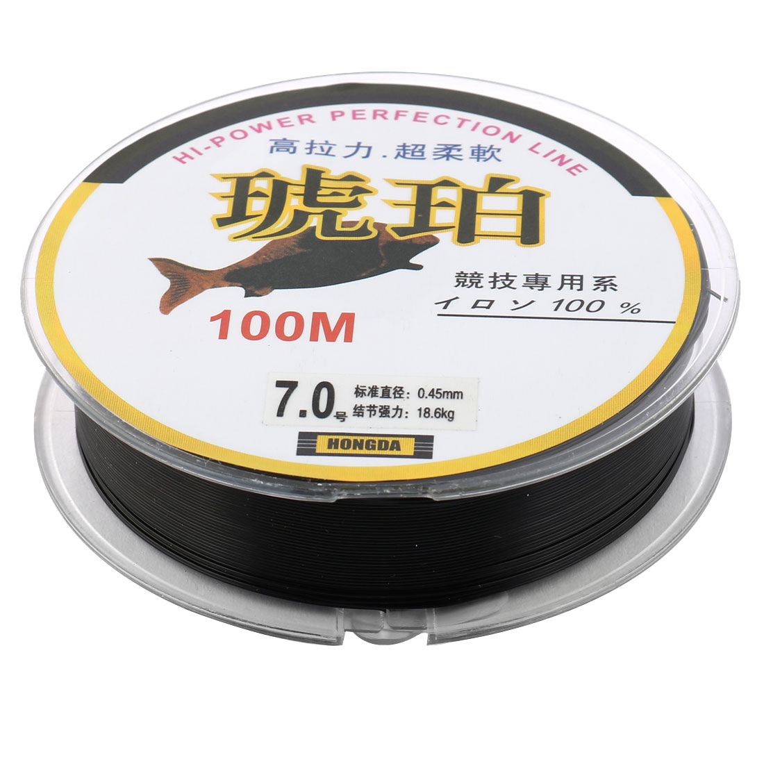 Cyan Fishing Spool Line 100m Diameter 0.45mm