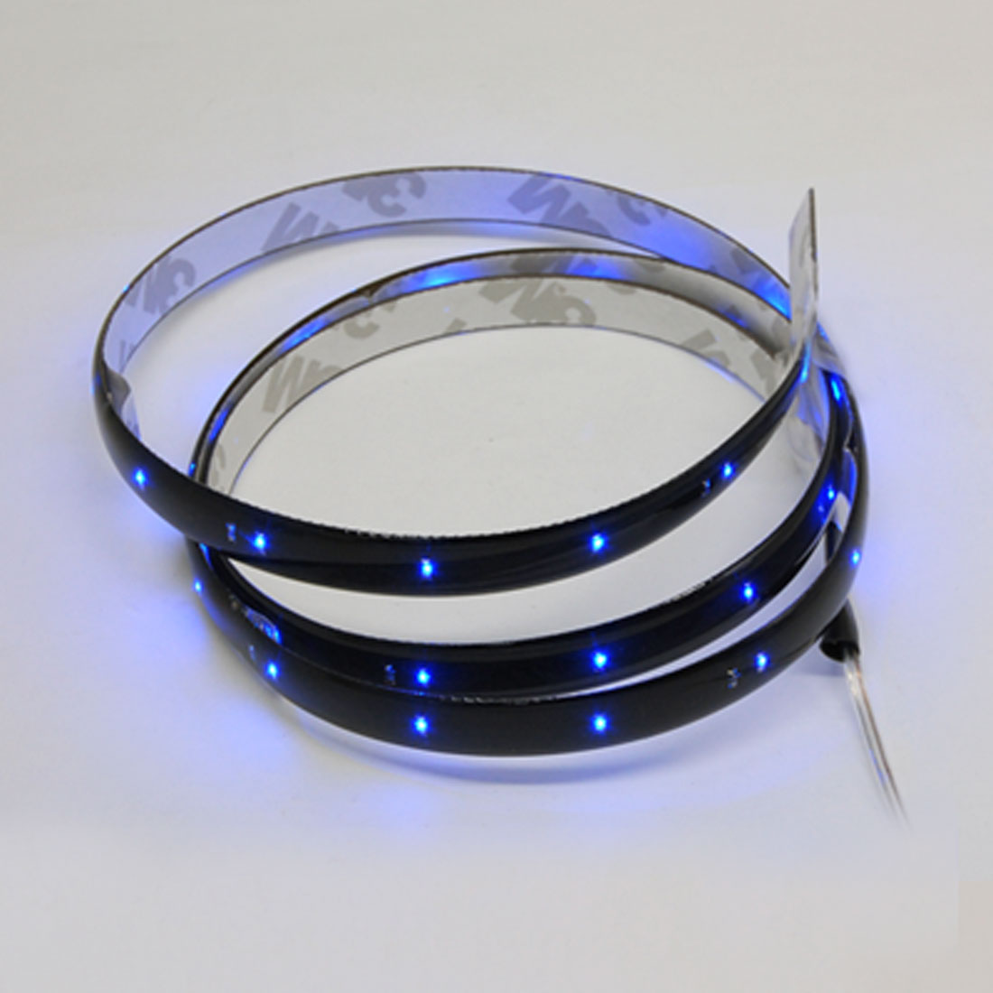 90cm Car Flexible Light Strip 42 Blue LED Vehicle Lamp