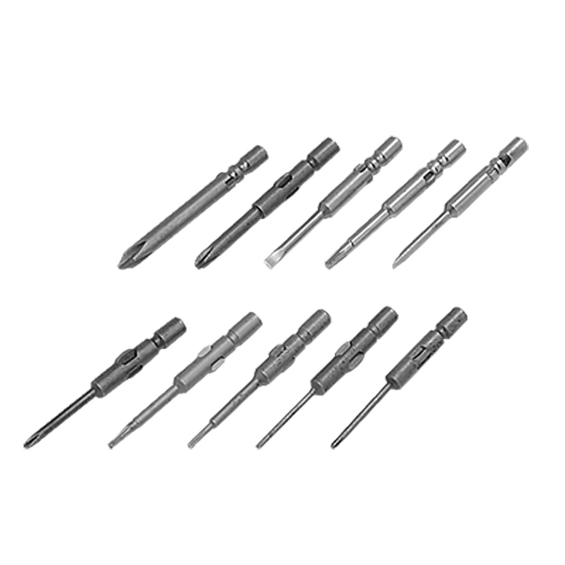 10 in 1 Mini Precision Magnetic Screwdriver Bits Set