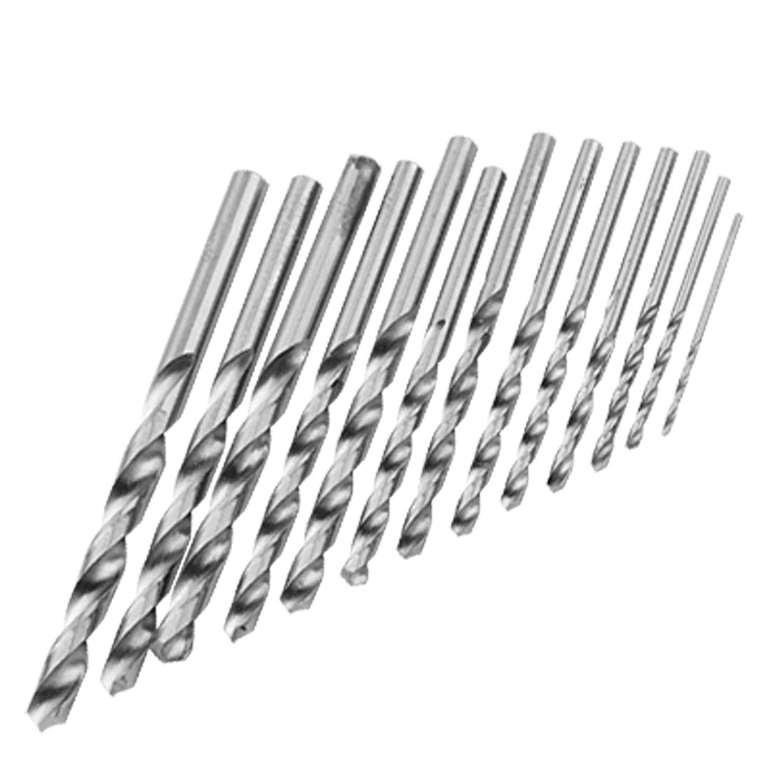 1.5mm to 6.5mm Diameter HSS Twist Spur Taper Shank Drill Bits