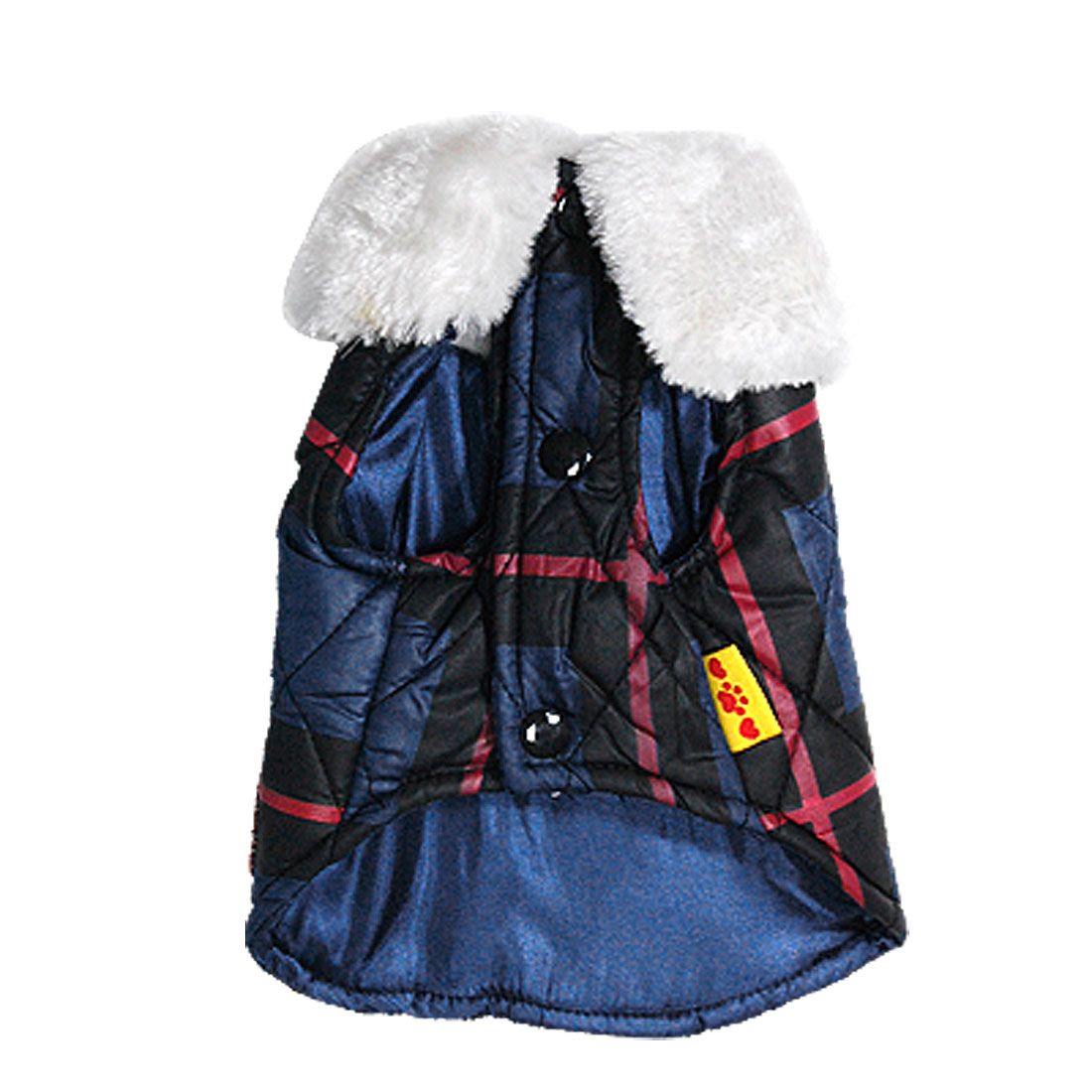 Small Cute Dark Blue Winter Pet Dog Yokrie Apparel Warm Coat Jacket Vest Size XS