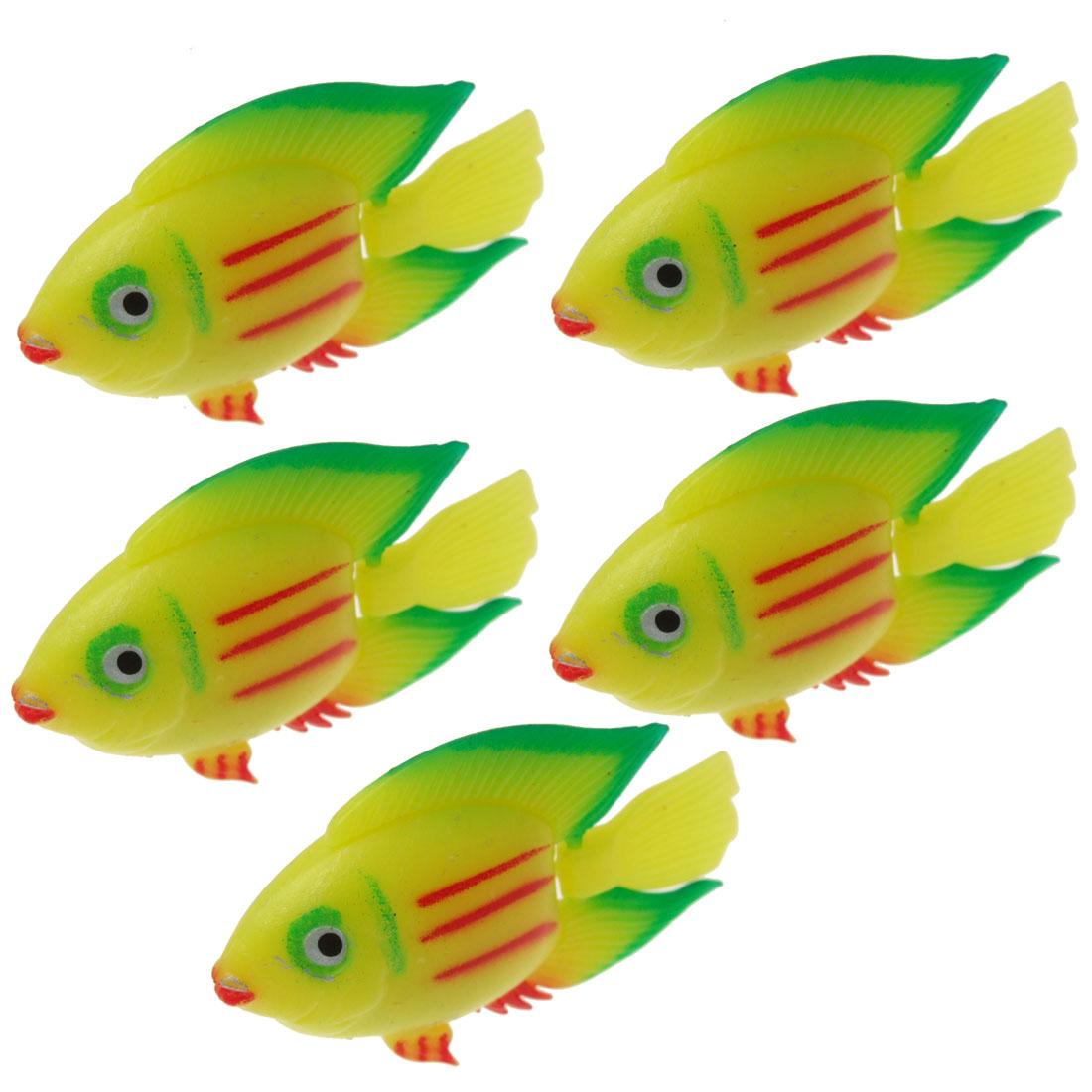 Plastic Aquarium Mini Fish Water Tank Decor Ornament