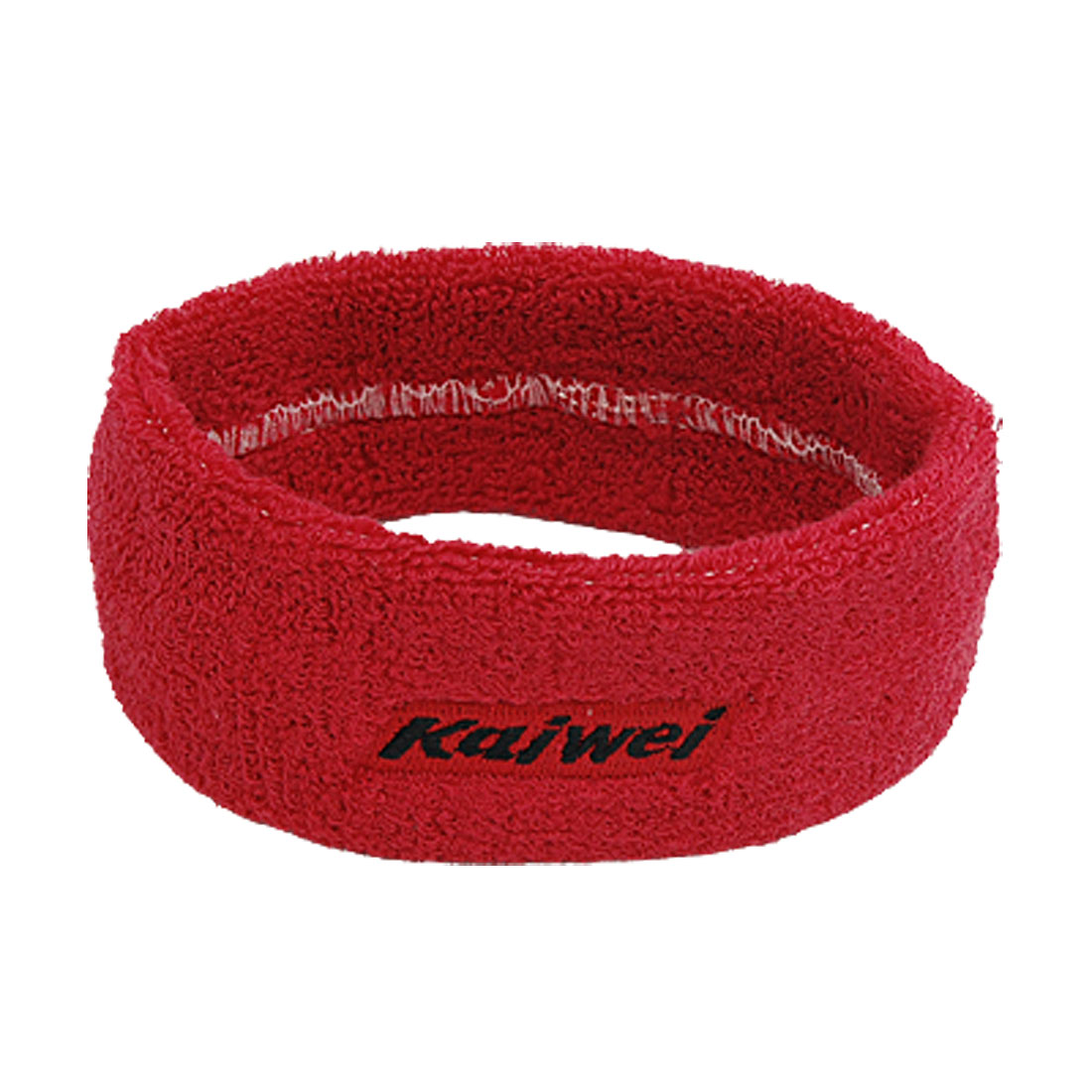 Red Sports Athletic Elastic Sweatband Head Band Headband