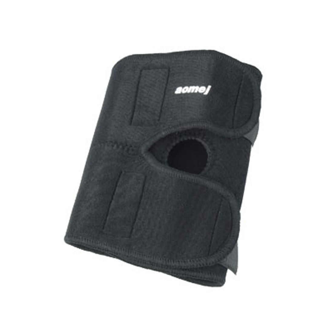 Black Stretch Elastic Brace Knee Support