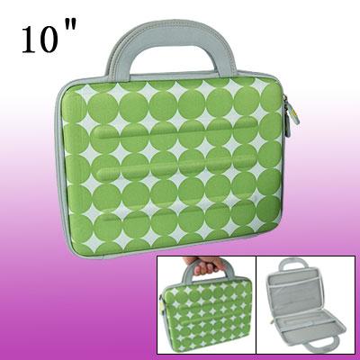 "Circle Pattern Notebook Carry Case 10"" Laptop Handbag"