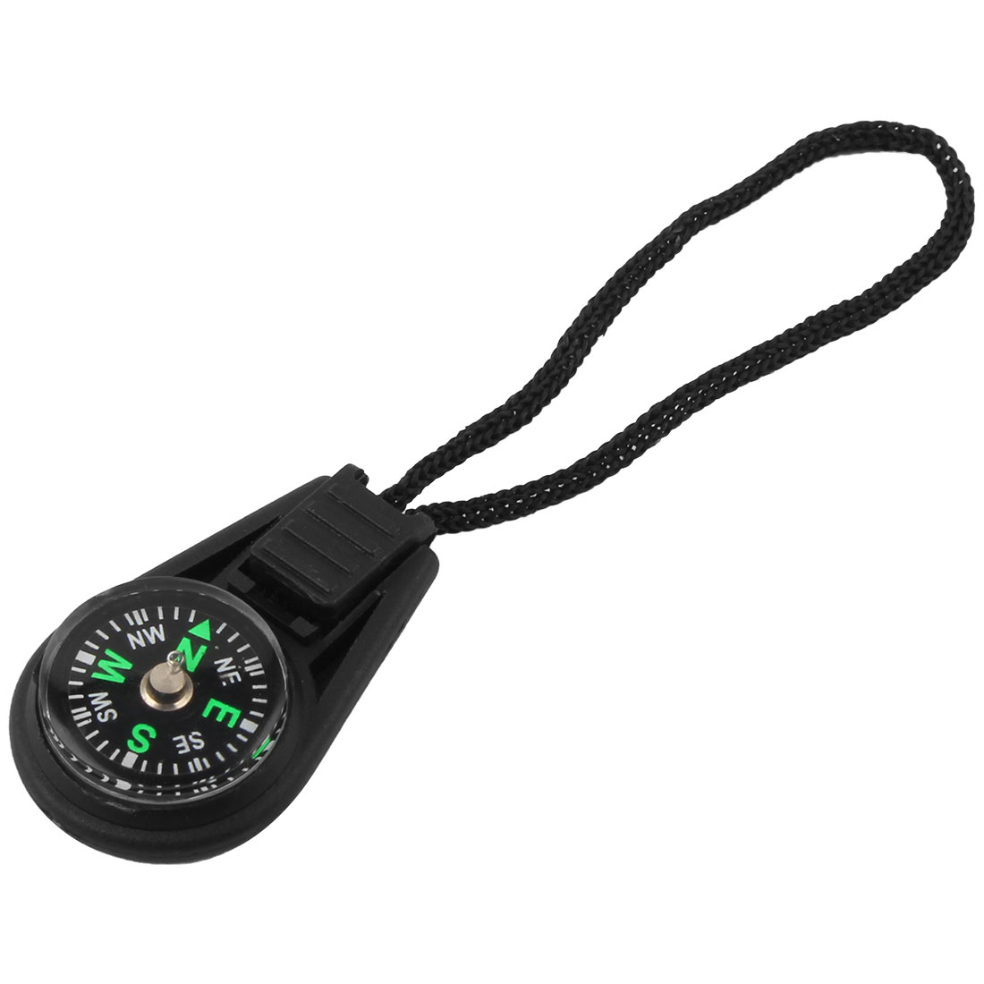 Mini Travel Mountaineering Portable Compass with Lanyard