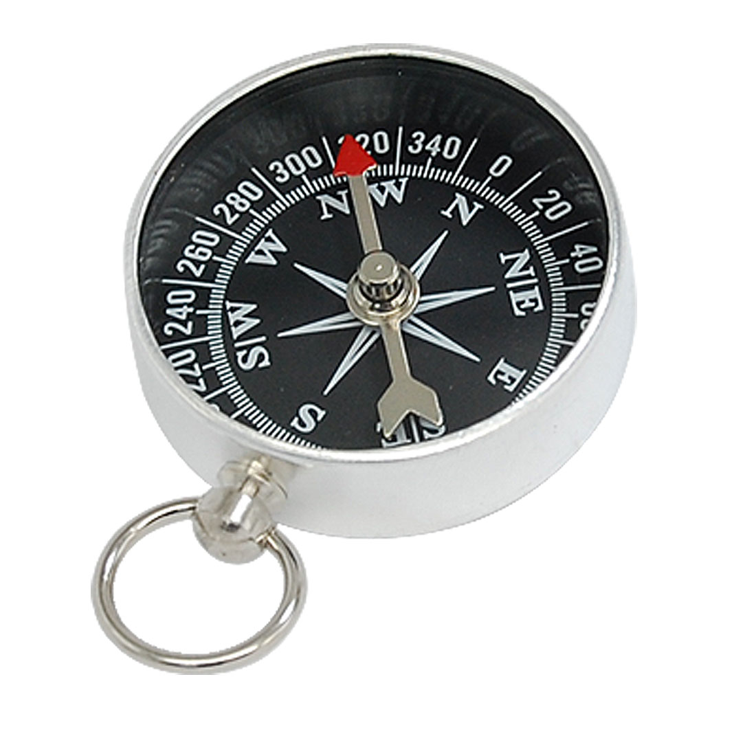 Mini Portable Metal Travel Camping Mountaineering Compass