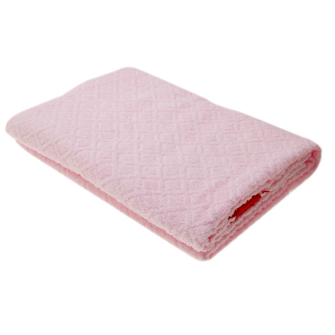 """Soft Pink Cotton 55"""" x 27.5"""" SPA Bath Towel Beach Washcloth"""