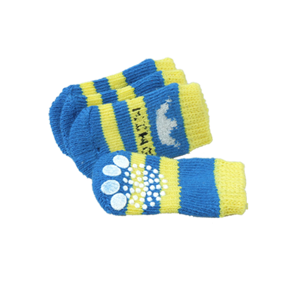 Dog Socks w. Crown Pattern 6.7 x 3.2cm