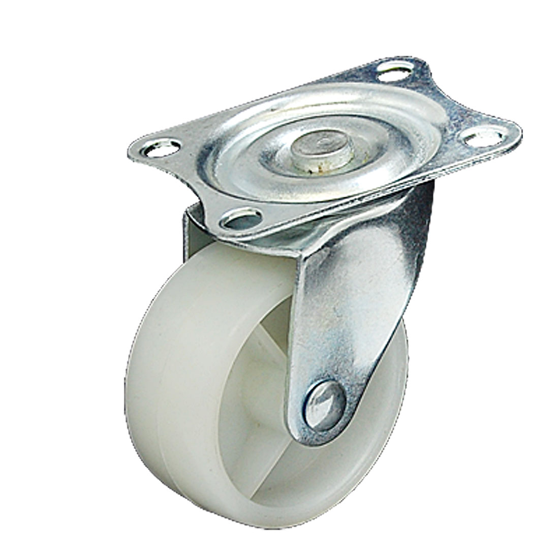 Flat Full Rotation Caster Wheel with Swivel Plate