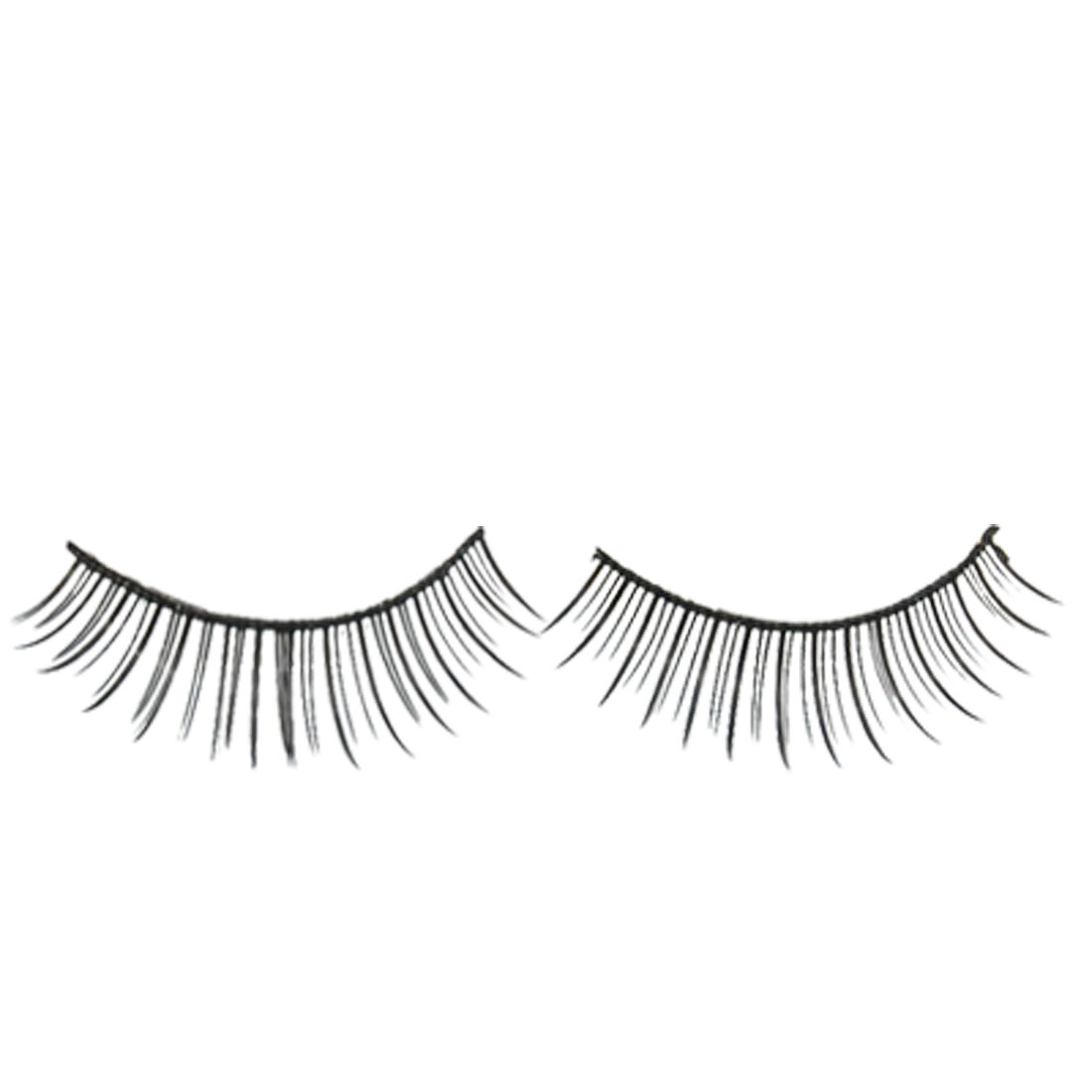 Black False Fake Eyelashes Makeup Eye Lashes 1 Pair