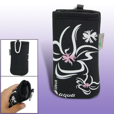 Soft Bag Black Case Protective Pouch for iPhone Cell Phone