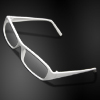 Beautiful White Plastic Frame Younger's Clear Lens Sunglasses