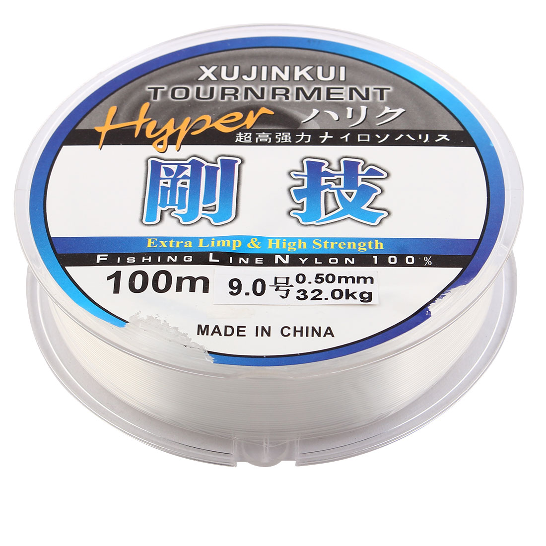 Clear Durable Fishing Line 100m Dia 0.5mm