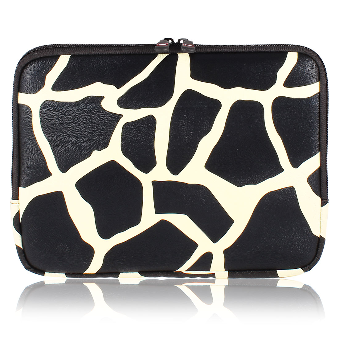 "10"" 10.1"" 10.2"" Black White Giraffe Pattern Tablet PC Laptop Sleeve Bag Case"