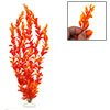 Orange Plastic Plant Grass for Aquarium Fish Tank