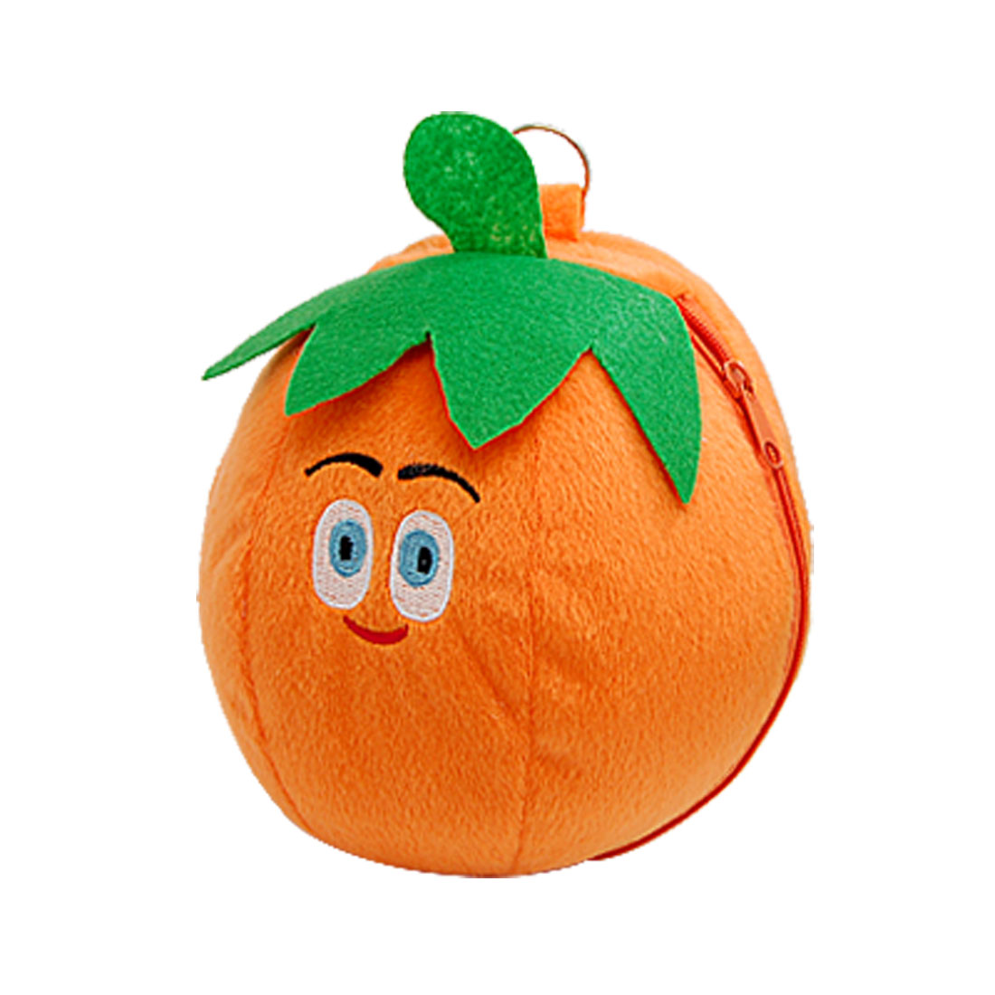 Cute Orange Soft Toy DVD CD Carry Bag Storage Case