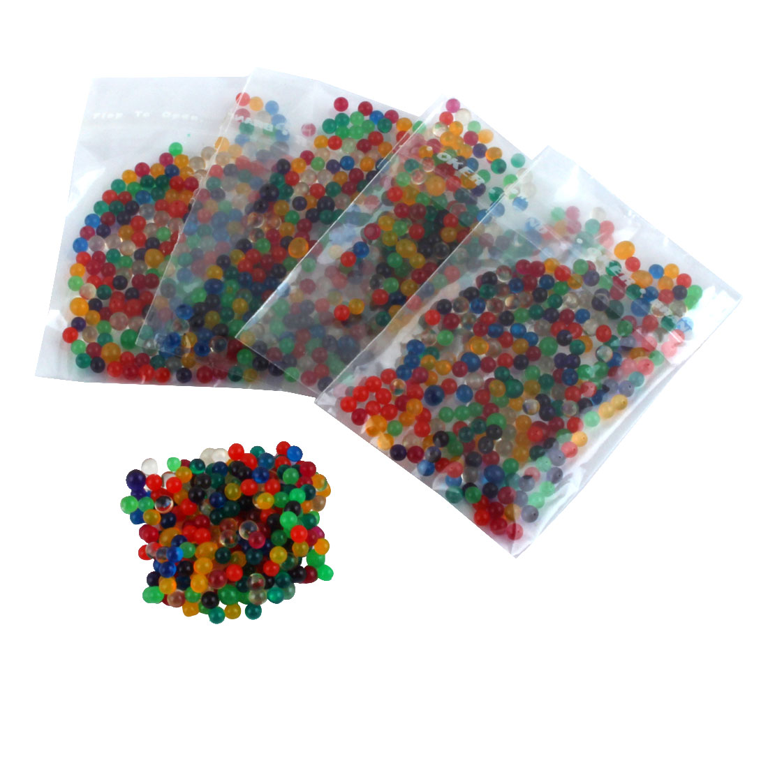 Colorful Magic Crystal Water Jelly Mud Soil Beads Balls