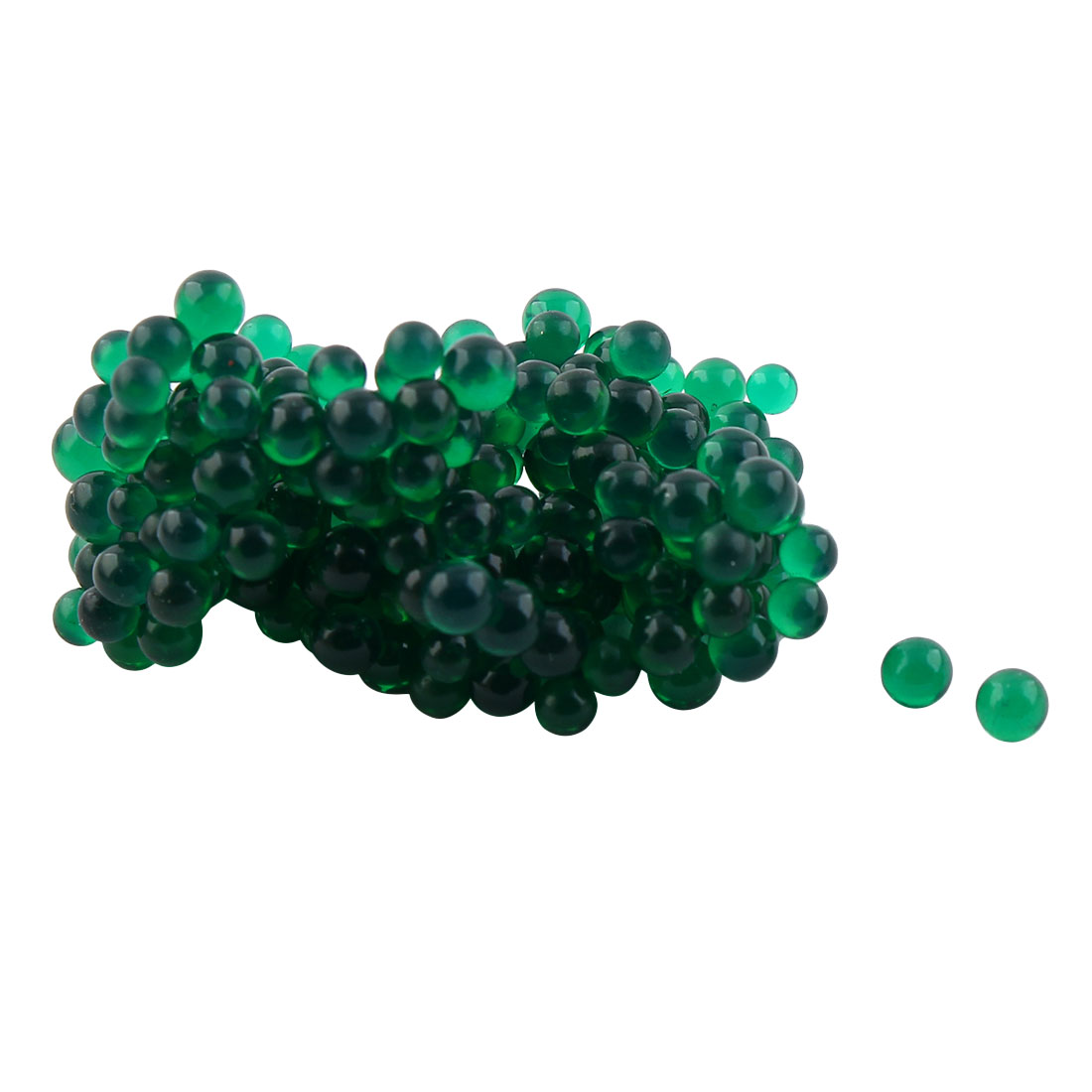 Green Crystal Mud Decorative Water Gel Beads 5 Bags