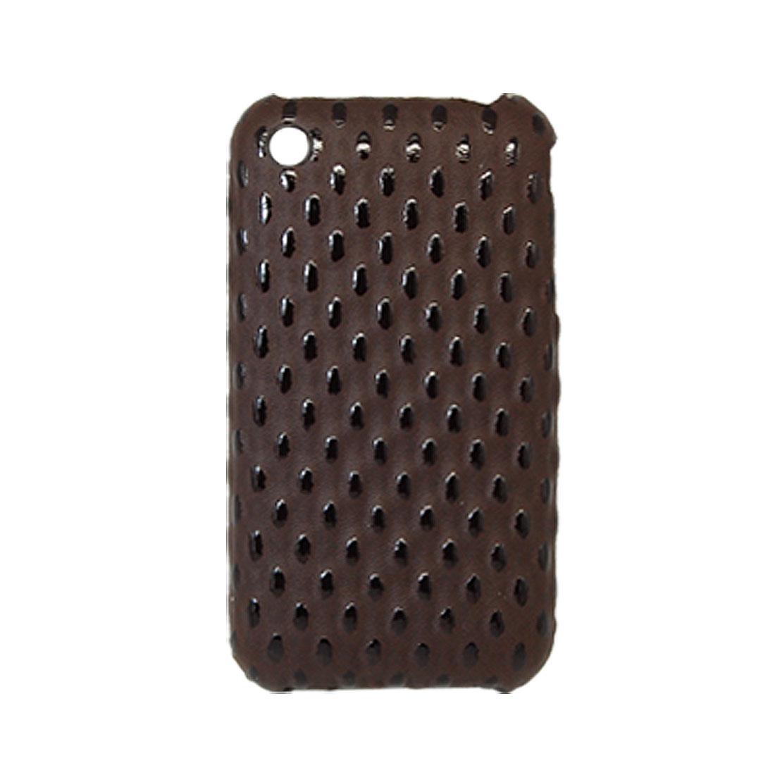 Non-Slip Hard Plastic Case Back Cover for Apple iPhone 3G