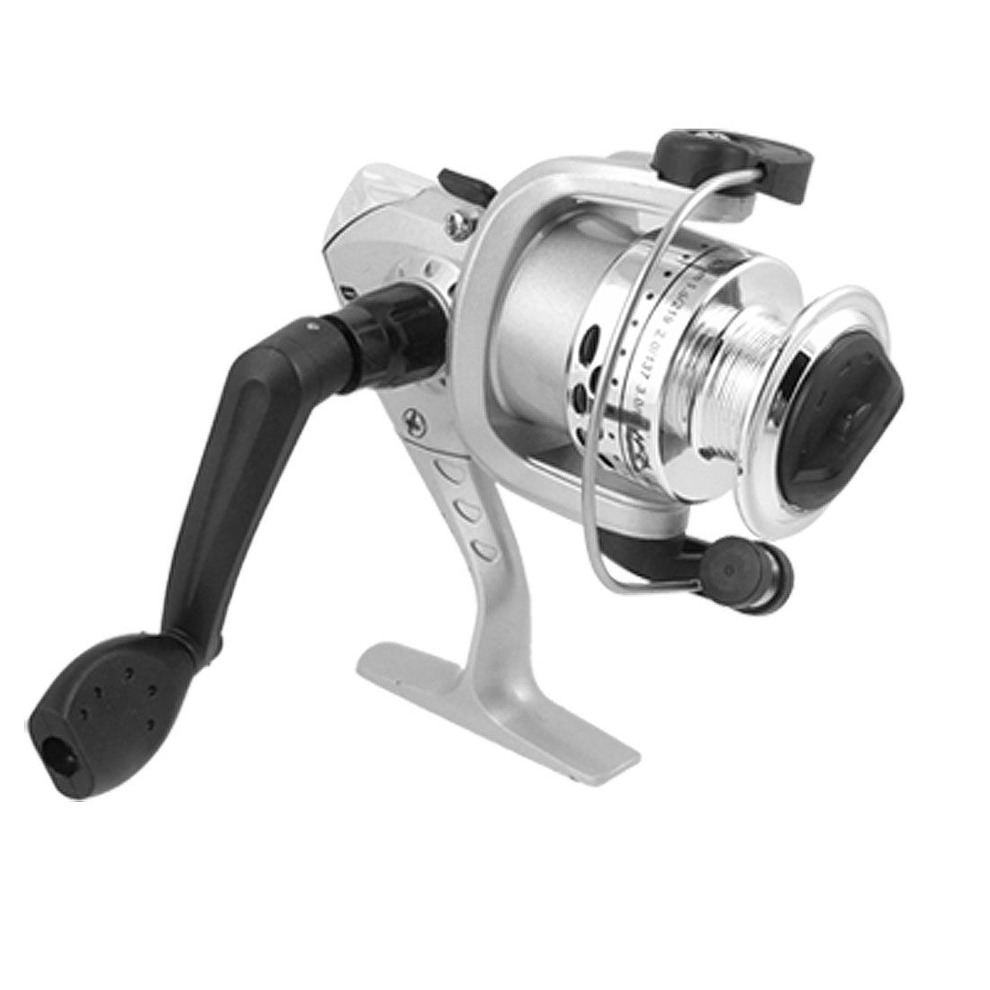 Ratio 5.2:1 Fishing Spinning Casting Gear Reel Silvery Black