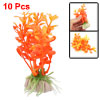 Mini Plastic Plants Decoration for Aquarium Fish Tank