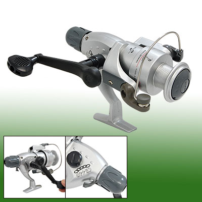 Silvery 4 Ball Bearing Fishing Spinning Reel Gear Ratio 5.0:1