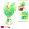 Floral Aquarium Fish Tank Mini Plastic Plants 10 PCS