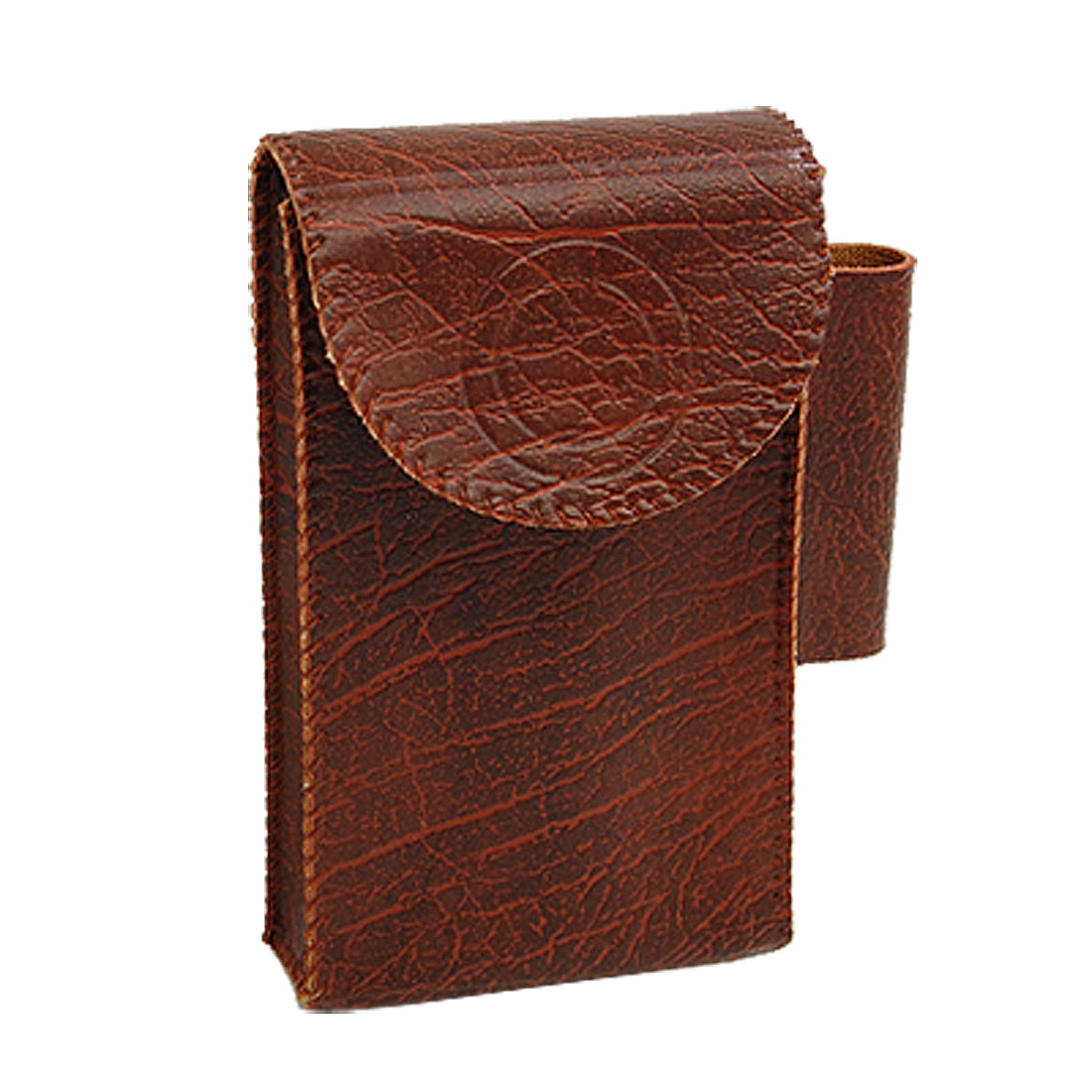 Fashion Portable Cigar Cigarette Case Pouch with Lighter Holder