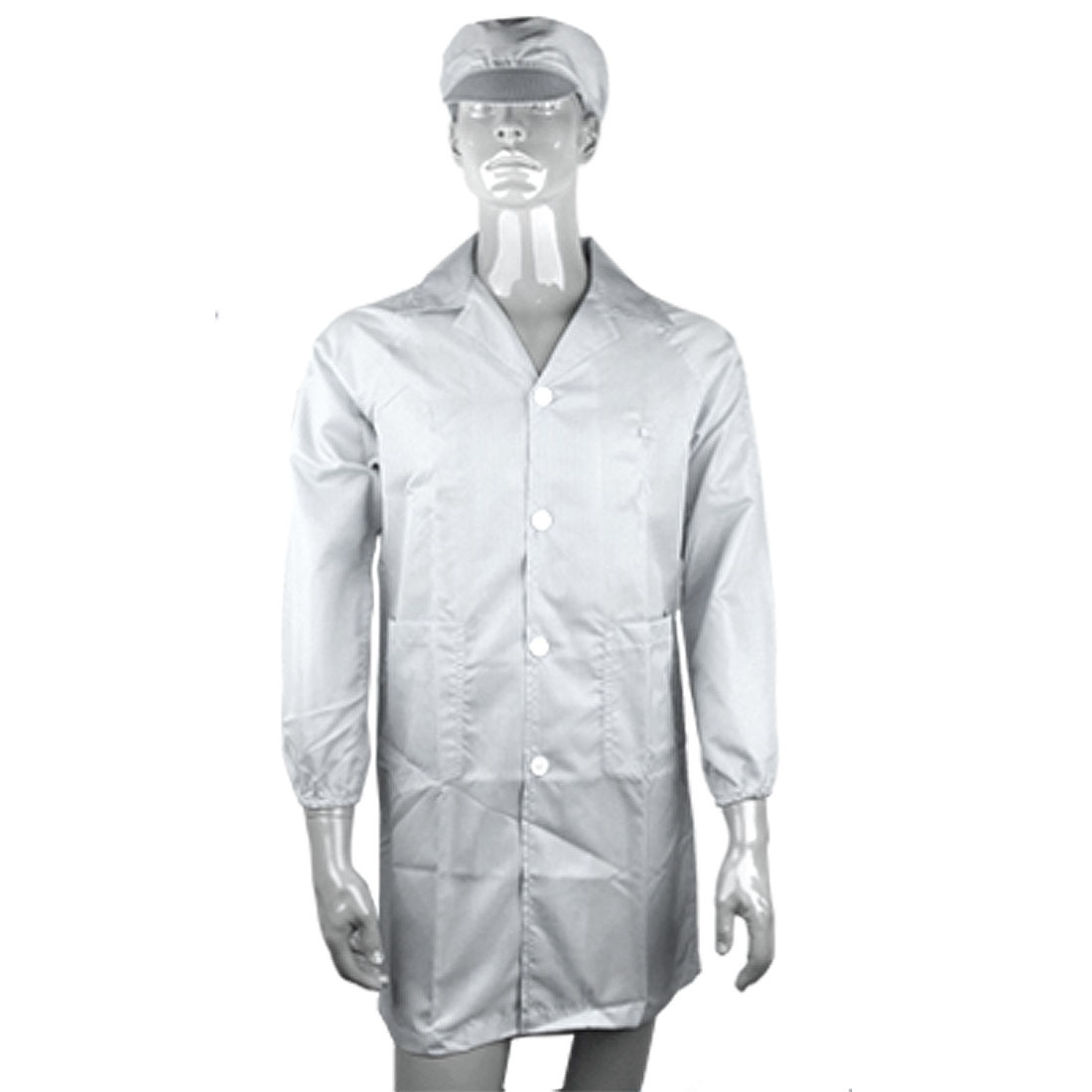 Size S Unisex Anti-static LAB Smock Clothes Coat