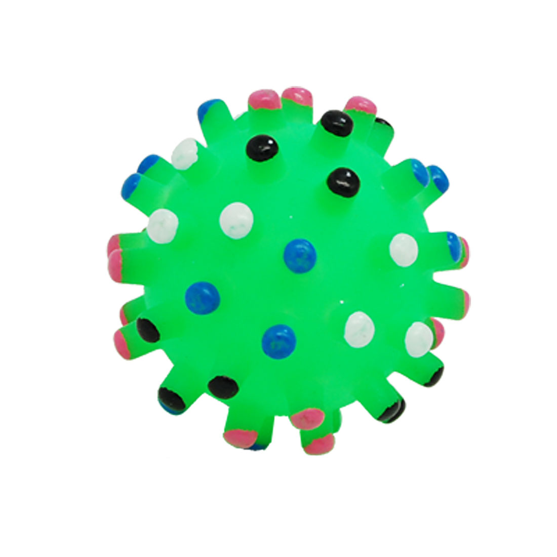 Green Pet Dog Puppy Chew Squeak Squeaky Small Ball Toy