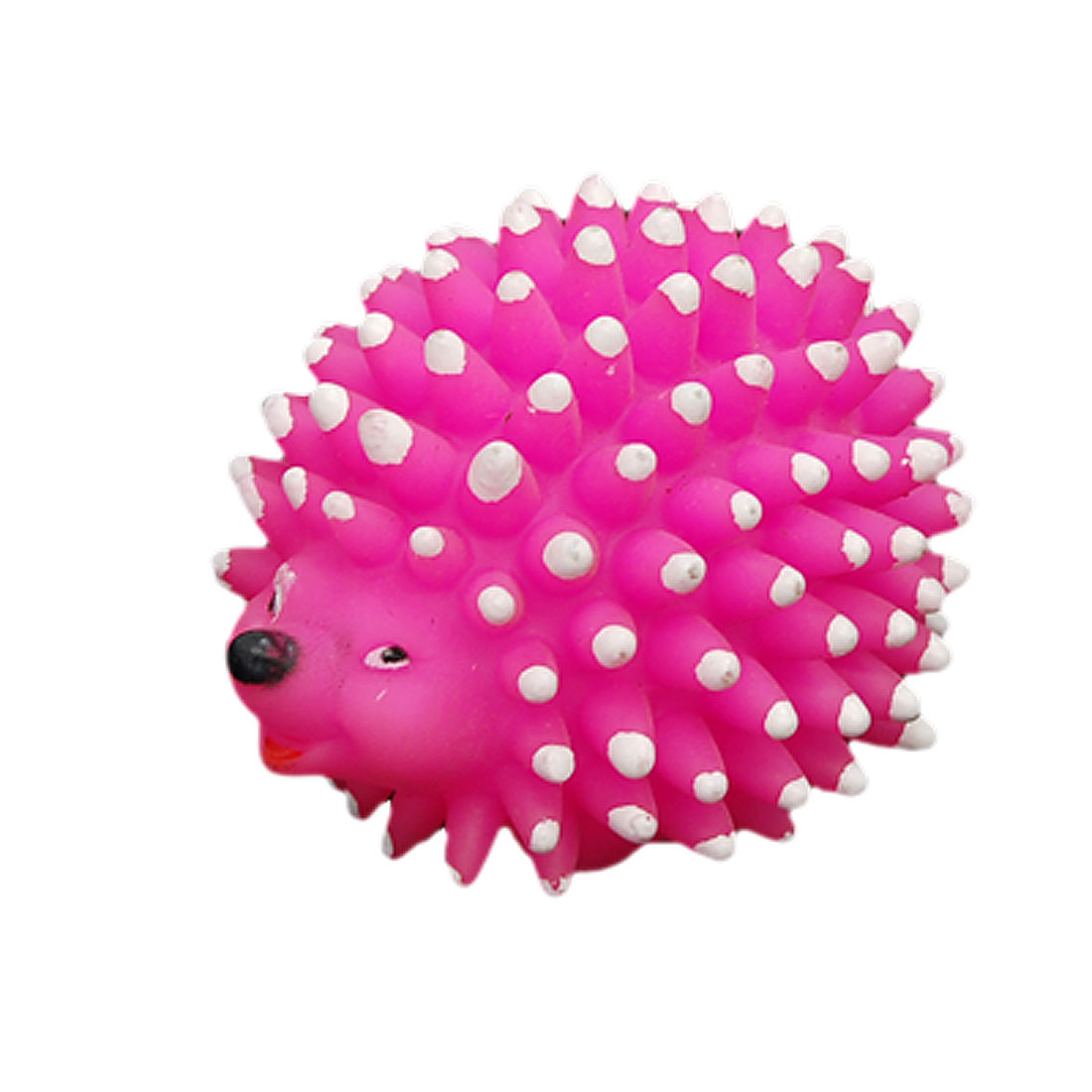 Hedgehog Style Pet Dog Puppy Chew Squeak Squeaky Toy