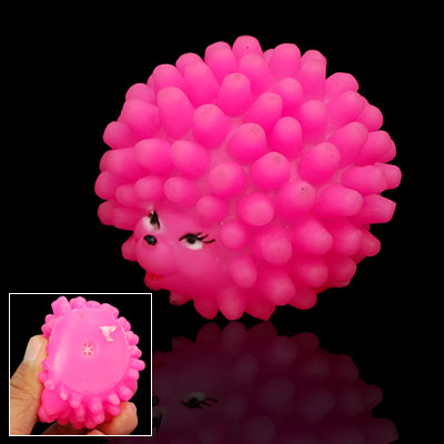 Mini Hedgehog Shaped Pet Dog Puppy Chew Squeaky Toy