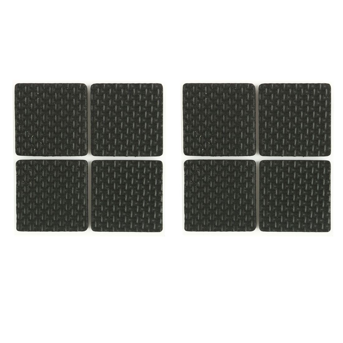 8 in 1 Black Protective Furniture Table Chair Foot Square Pad
