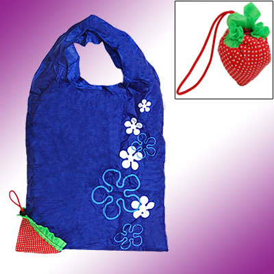 Strawberry Style Reusable Fashion Shopping Tote Bag