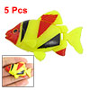 Set of 5 Aquarium Decorative Plastic Floating Fish