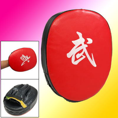 Faux Leather Martial Kick Punch Handheld Target Pad