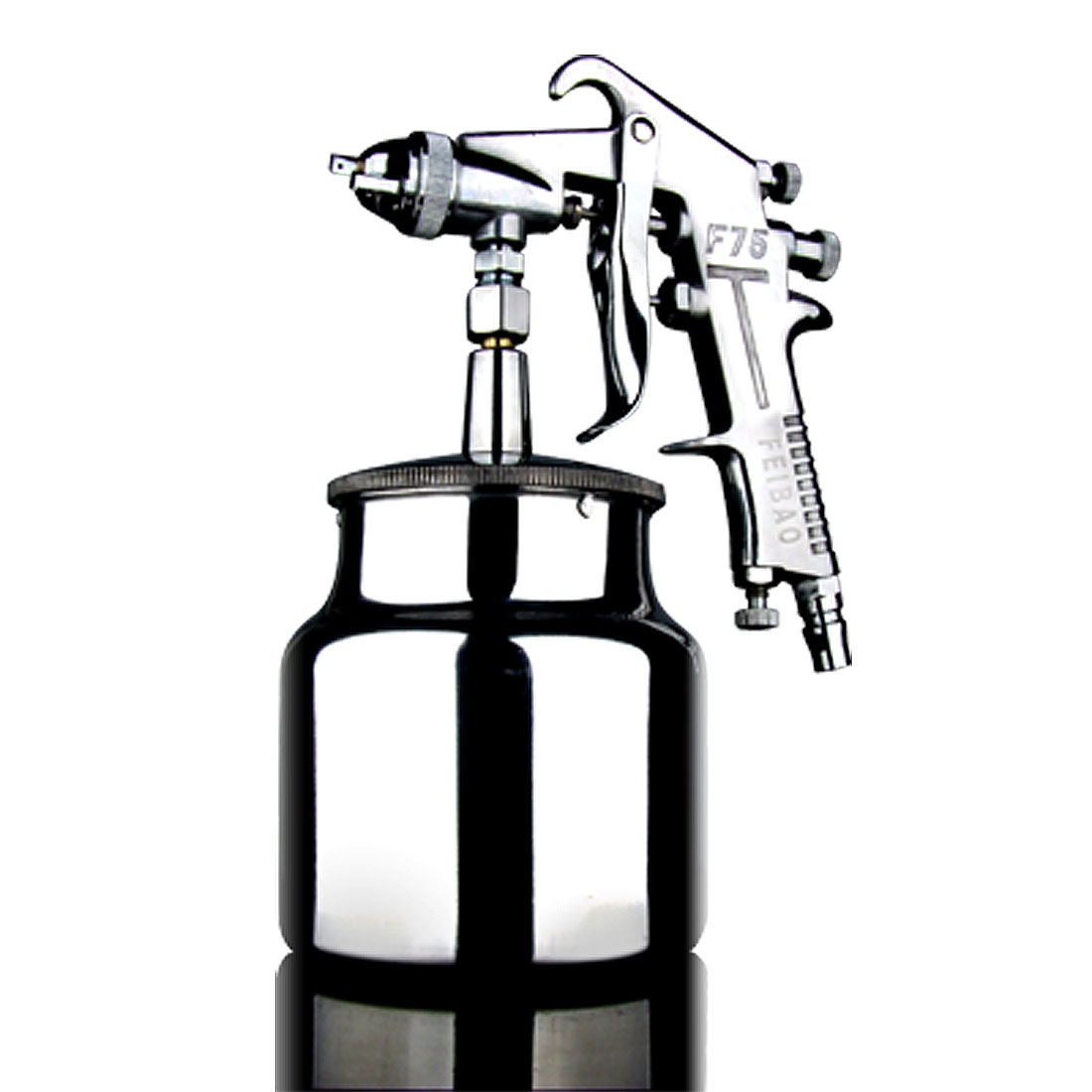 Slivery Paint Sprayer Spray Gun Air Tool