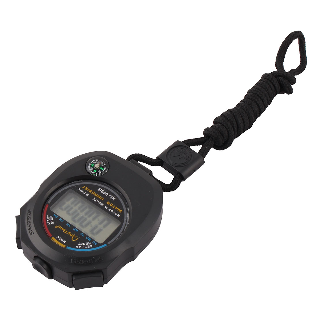 Sports Digital Stopwatch Chronograph Timer with Cord