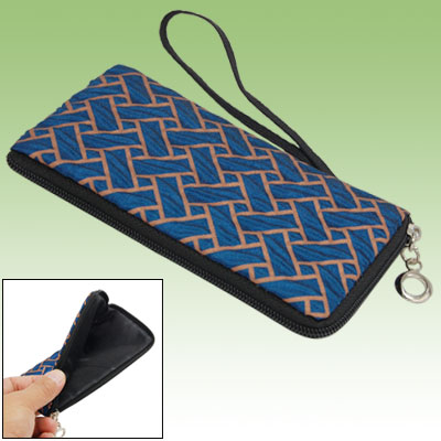 Zipper Style Mobile Cell Phone Bag for iPhone 3GS 3G