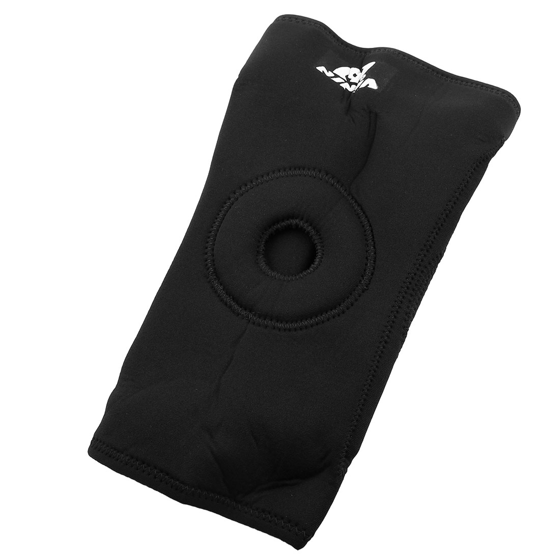 Black Stretchy Elastic Knee Brace Compression Support