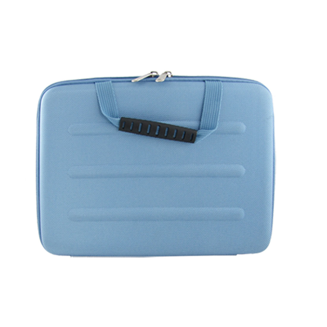 "10"" 10.1"" 10.2"" Blue Dual Zipper Notebook Laptop Sleeve Bag Case + Handle for iPad"