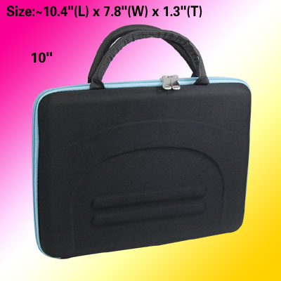 Black Carrying Case Tote Bag for 10 Inch Notebook Laptop