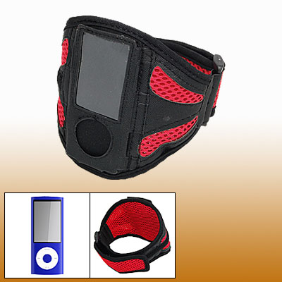 Mesh Style Armband Case Holder for iPod Nano 5th Generation 5G