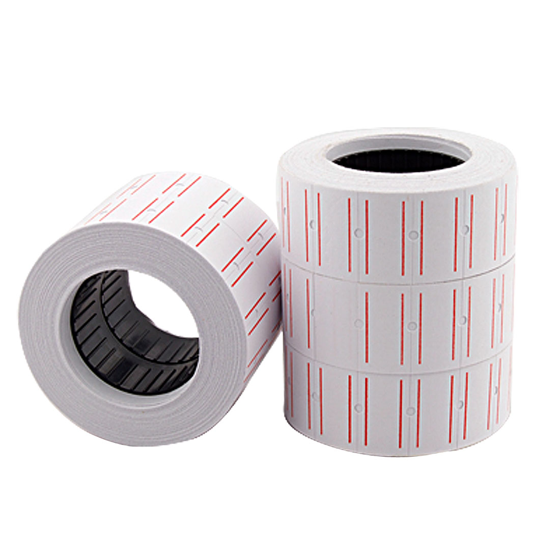 Self Adhesive Sticker Price Marking Label Roll 5pcs for School Office
