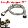 "23"" Braided Flexible Water Heater Connectors Hose"
