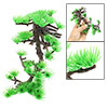 Pine Style Decorative Aquarium Fish Tank Plastic Plant