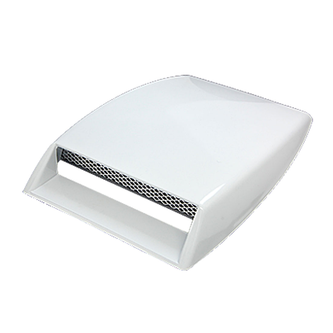Universal Car Auto Plastic Hood Scoop Air Flow Vent White