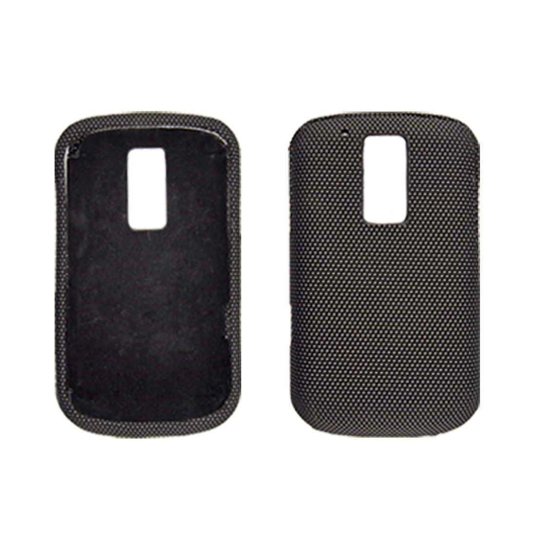 Nylon Covered Plastic Cover Protector for Blackberry Bold 9000
